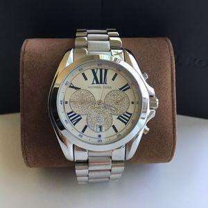 BRAND NEW Michael Kors Silver Uniex Watch MK6320